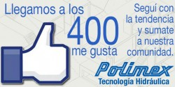 Llegamos a los 400 seguidores en Facebook