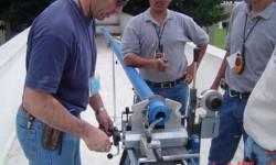 México - Instalación del Sistema Azul Fusión