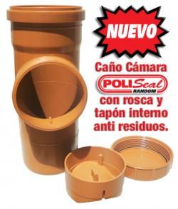 Nuevo Caño Cámara Poliseal.