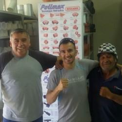 Omar Narváez junto a POLIMEX ARGENTINA S.A.